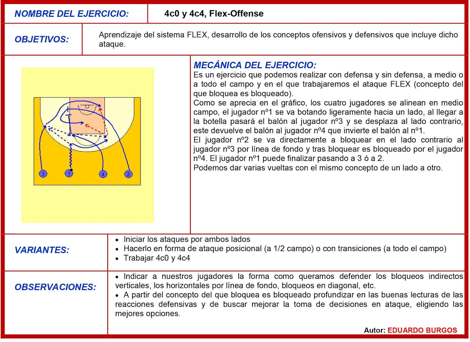 4C0 Y 4C4, FLEX-OFFENSE3